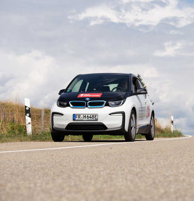 Der BMW i3 unterwegs im Hochschwarzwald