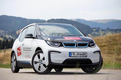 E-Car Sharing BMW i3