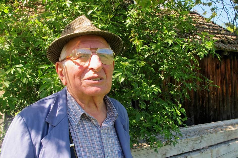 Oskar Hummel ist Jahrgang 1928 und hat mit elf, zwölf Jahren von seinem Vater das alte Handwerk gelernt.