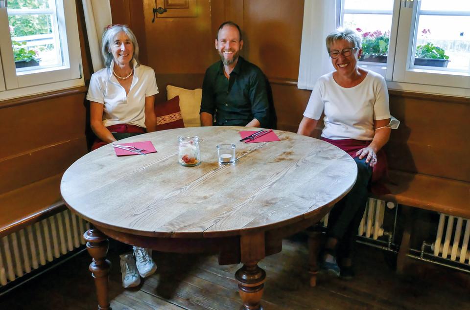 Dorfgasthaus das Rößle Gschwend Linda Dießlin, Daniel Steiger, Jutta Strohmeier
