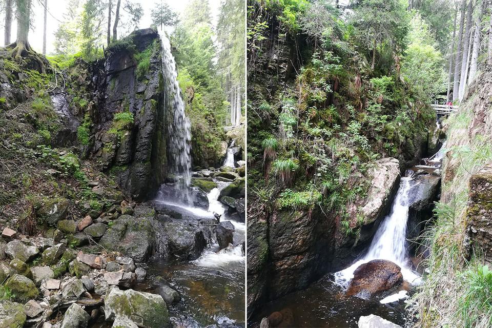 Die Ziegen und der Wasserfall waren unsere unumstrittenen Highlights.