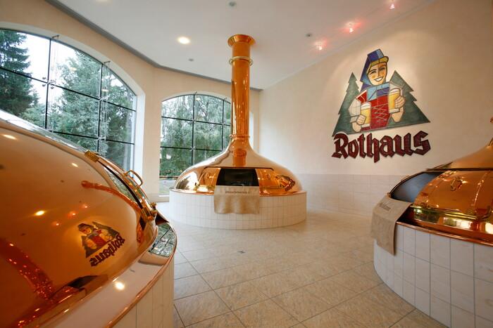 Kupferkessel im Rothaus Museum