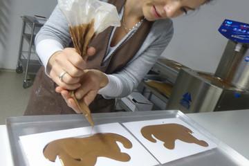 Schokolade ist ihre Leidenschaft