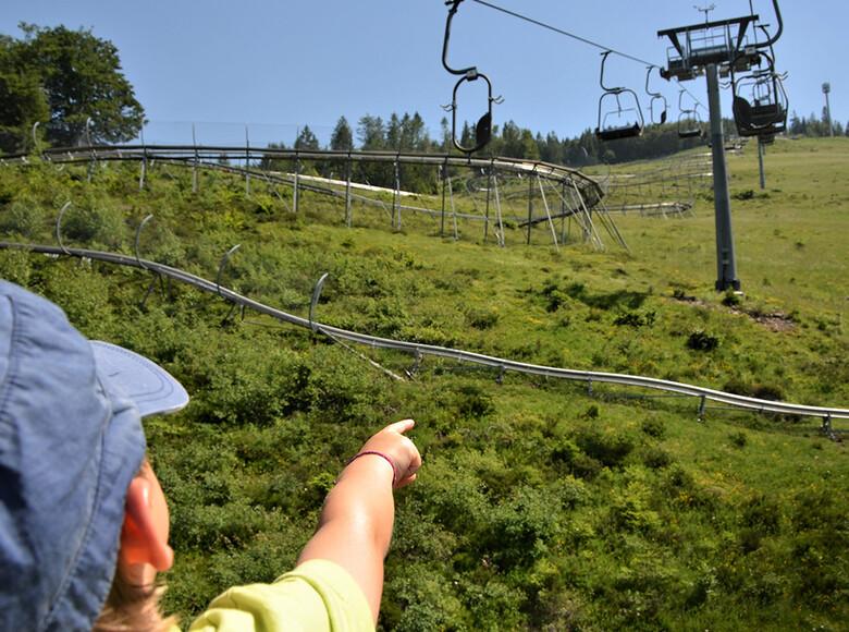Hasenhorn Coaster und Seilbahn