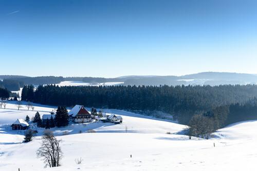 Winterlandschaft Furtwangen