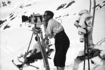 Der erste Skifilm der Welt