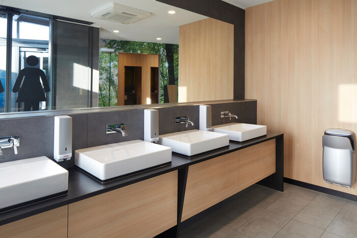 Toilettenanlage in Titisee