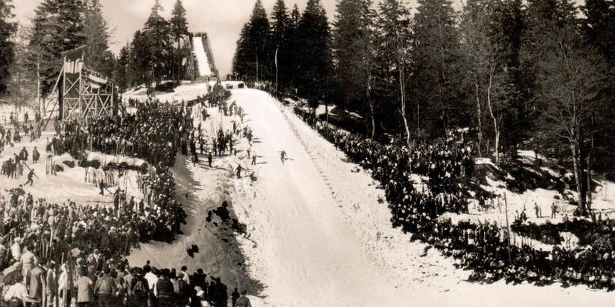 Skisprungschanze am Feldberg, 1935