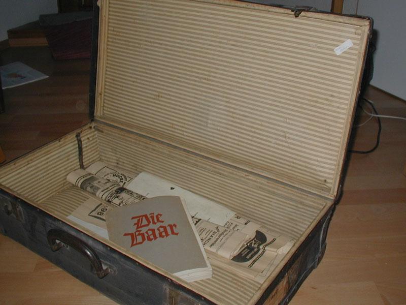 Unsere Koffer brachte mein Vater mit mir immer in einem nahezu feierlichen Zug.