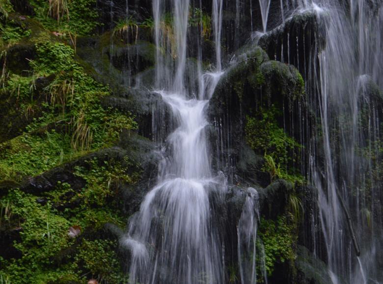 Kleine Fotopause am Fahler Wasserfall