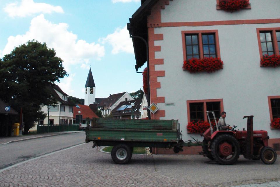 Friedenweiler – Der Name ist hier Programm. Hier wird dem Besucher ein Gefühl des Friedens vermittelt.