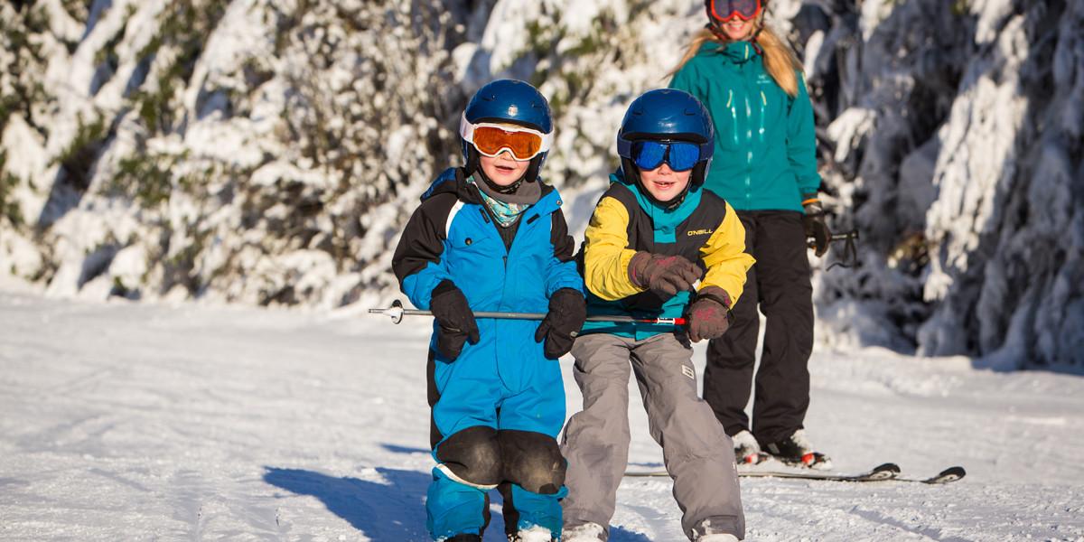 Ein Familien Skitag in Todtnauberg.