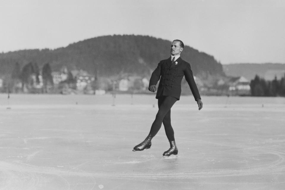 Im Februar 1925 wird Werner Rittberger Deutscher Meister bei den Deutschen Eiskunstlaufmeisterschaften auf dem Titisee.