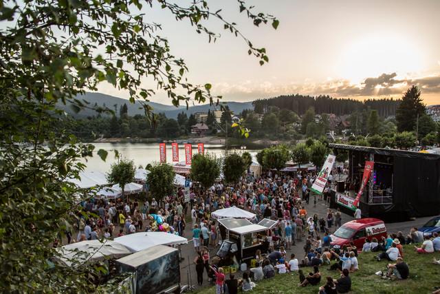 Das Seenachstfest Schluchsee mit Gästen beider Bühne