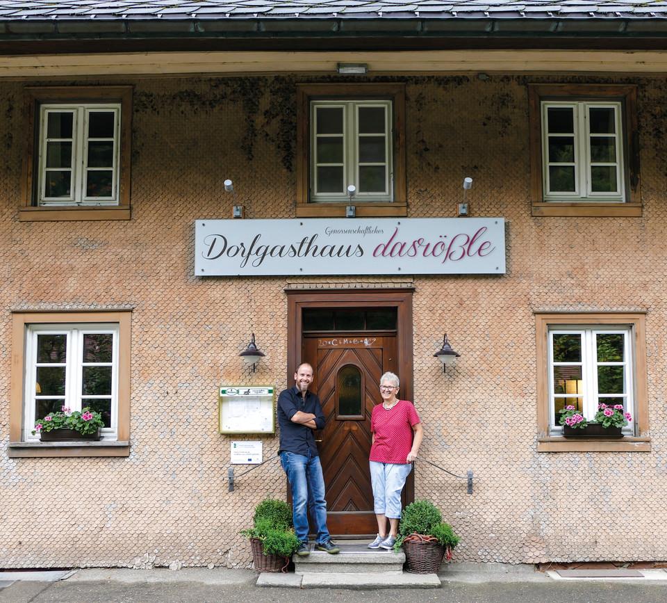 Dorfgasthaus das Rößle Gschwend Daniel Steiger und Ingrid Oberle