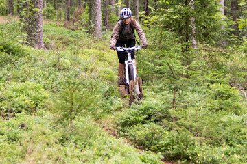 Mountainbike-Tour zum Zweiseenblick