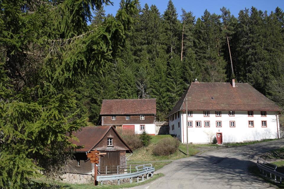 """Die über 200 Jahre alte """"Säge"""" liegt idyllisch bei Grafenhausen."""