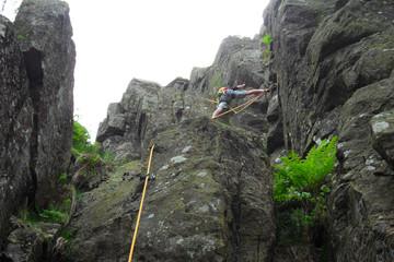 Klettertour am Kandelfels