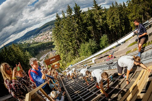 Action beim Red Bull 400