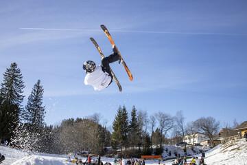 Ein Paradies für Freestyle-Skisportler