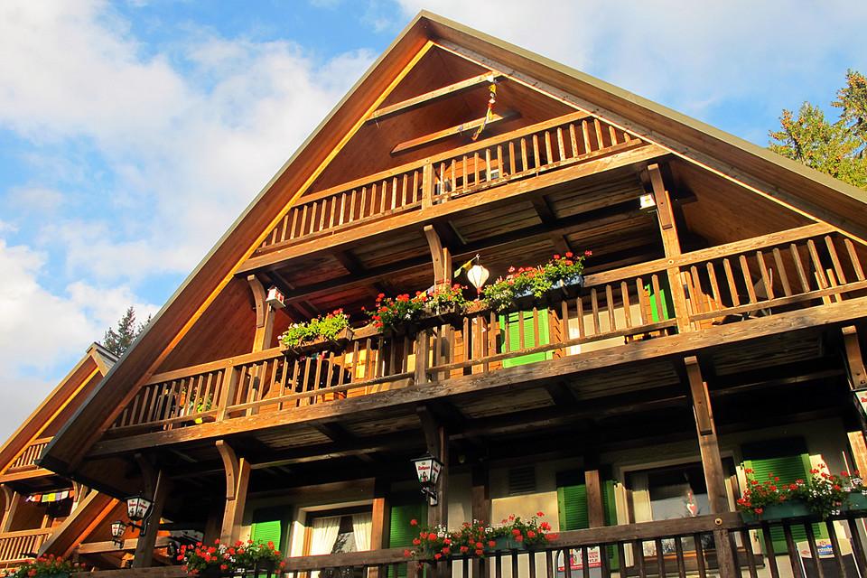 """Das """"Berghäusle"""" – eine Ski- und Wanderhütte wenige Kilometer vom Titisee entfernt."""