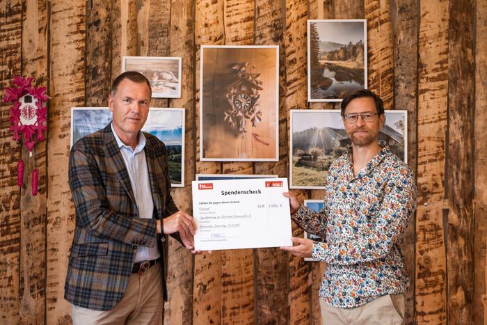 Mag. Thorsten Rudolph und Jochen Schorn