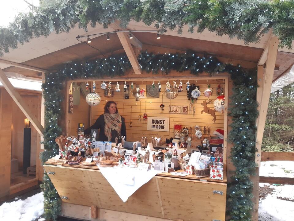 Stand Weihnachtsmarkt