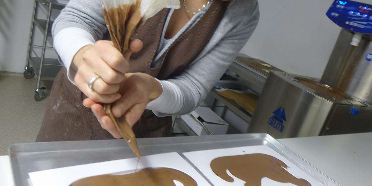 """Lisa Rudiger ist Konditormeisterin und hat in Neustadt ein Schokoladengeschäft, die """"Chocolaterie Lisa""""."""