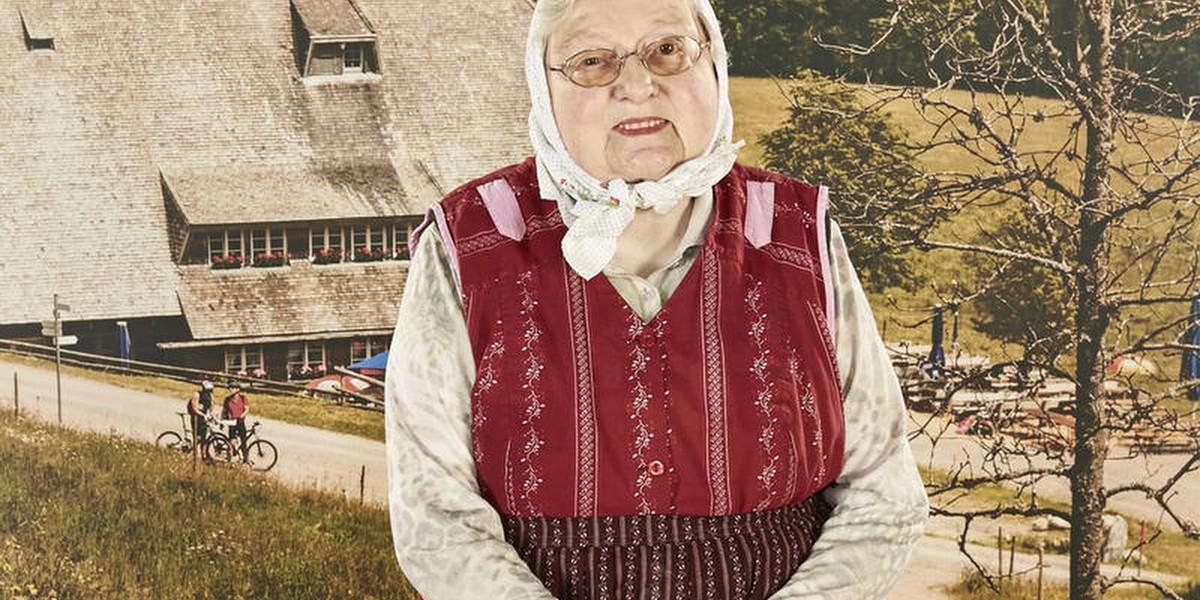 Margarete Andris verlies den Raimartihof nur selten, wusste sich aber hervorragend zu helfen!