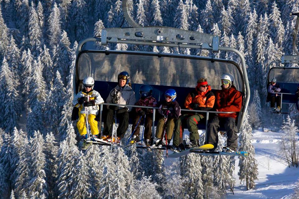 Die erste 6er-Sesselbahn Deutschlands