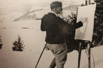 Der Maler und der Berg