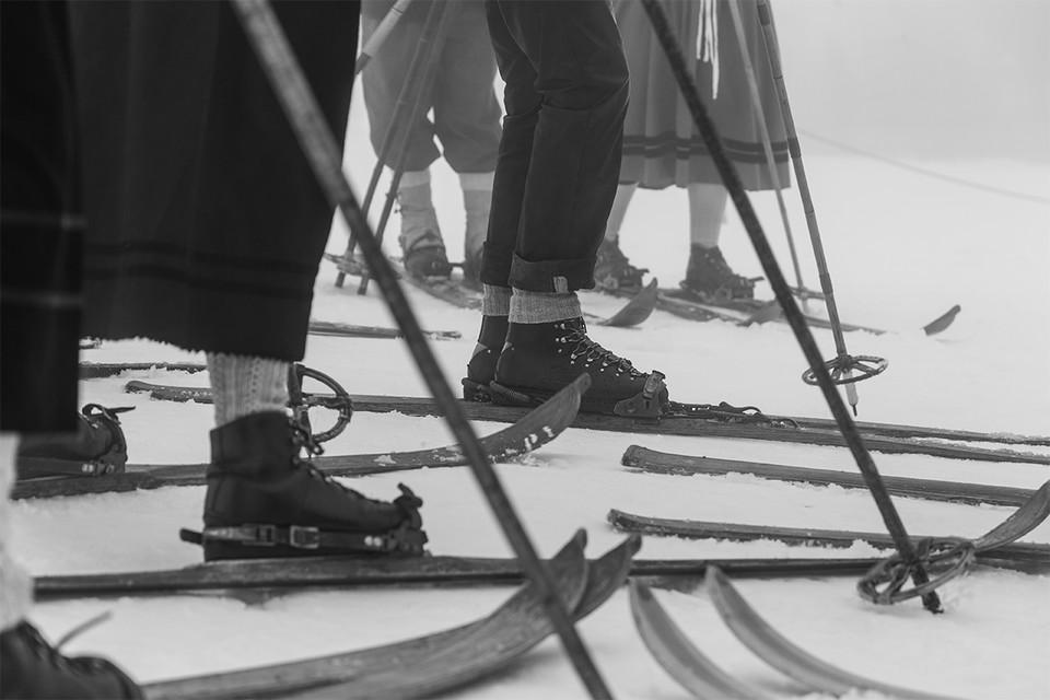 Historische Skilauf