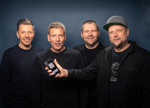 Foto: (v.l.) Michi Beck, Marcus Trojan, Patrick Hennig, Smudo © Jens Oellermann