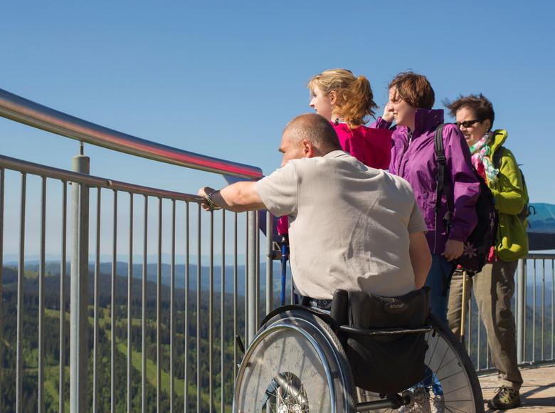 Die Aussicht vom Feldbergturm genießen