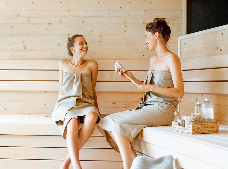 Was passt besser nach einem anstrengenden Tag als in der Sauna zu entspannen?