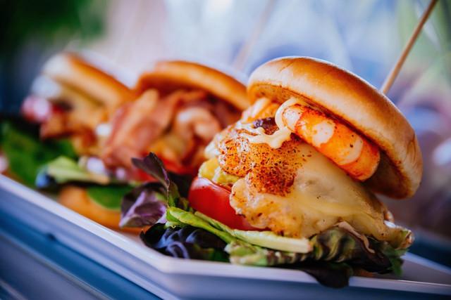 Burger aus dem Food Truck
