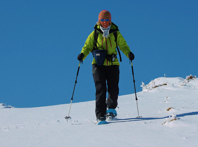 Schneeschuhguide Monika Neck