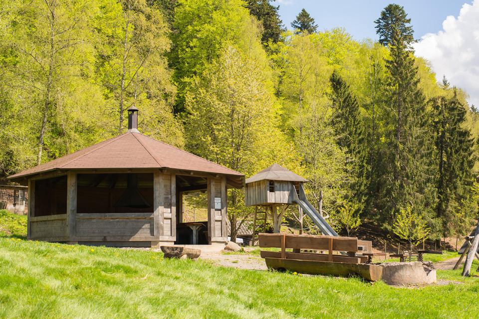 Der Grillplatz am Wildgehege bildet dann das i-Tüpfelchen.