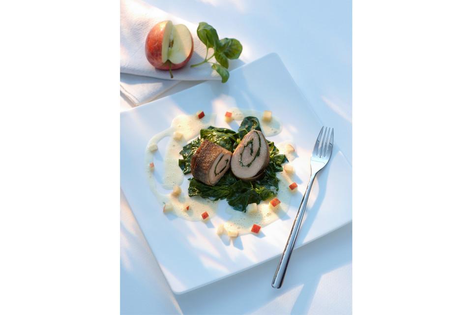 Regional, saisonal und kreativ sind die Gerichte von Klaus-Günther Wiesler.