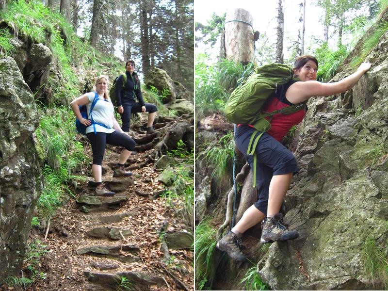 Für den nächsten Tag stand dann eine Wanderung über den alpinen Steig auf den Feldberg, auf dem Plan.