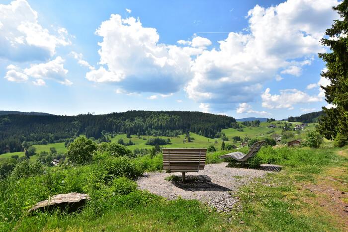 Aussicht vom Hirtenpfad in Lenzkirch