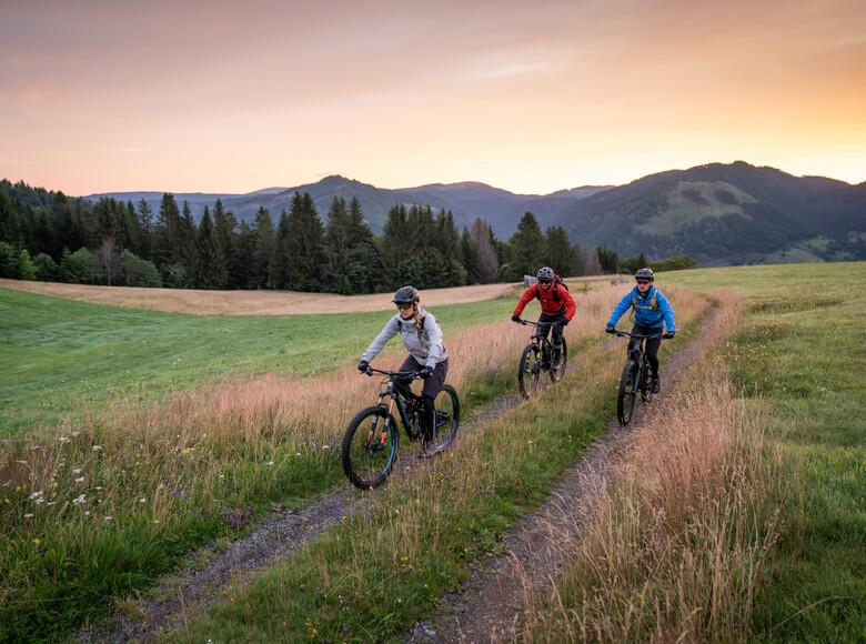 Gipfeltrail Hochschwarzwald - Mountainbike fahren