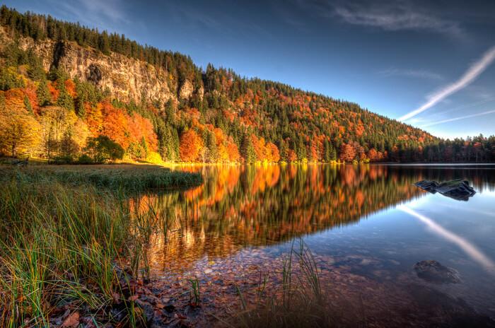 Feldsee im Herbst