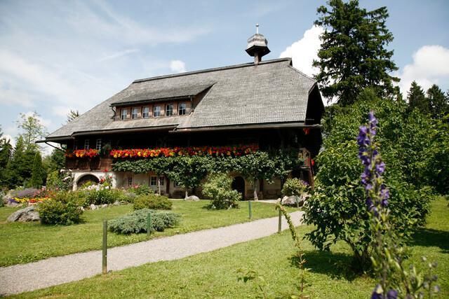 Heimatmuseum Hüsli im Sommer