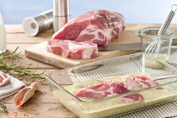Fleisch selbst marinieren