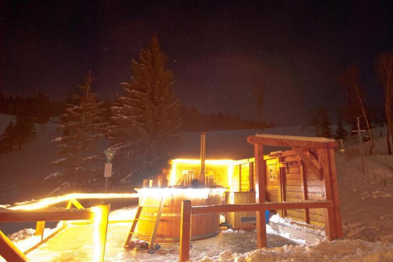 Der Hotpot an der Krunkelbachhütte