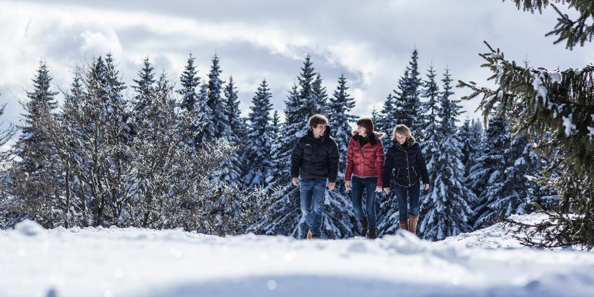 Aktiv sein und gleichzeitig zur Ruhe kommen? Das ist im winterlichen Hochschwarzwald überhaupt kein Widerspruch!