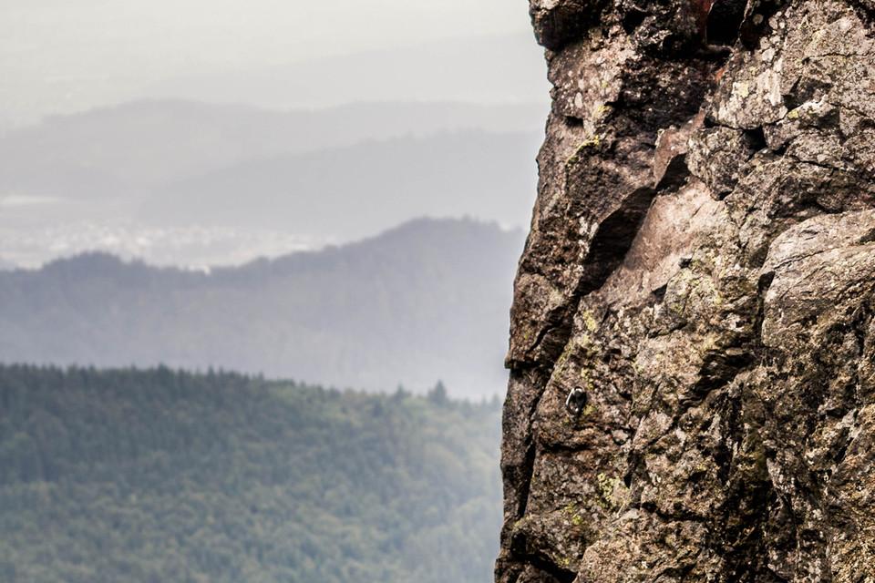 Der Fels ist beeindruckend, auch heute noch.