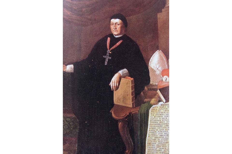 Martin II. Gerbert war Fürstabt des Klosters St. Blasien.