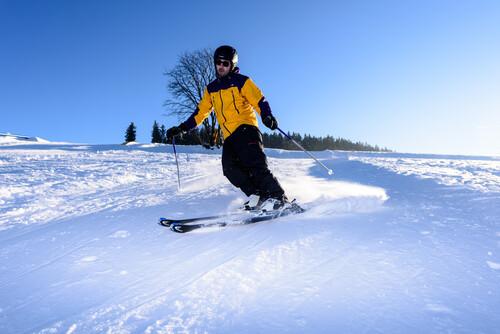 Skifahren in St. Georgen